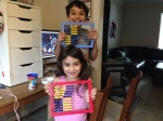 Kids and abacus
