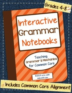 grammar notebook