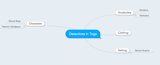 Detectives in Toga map